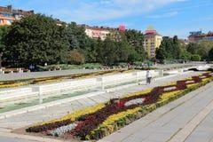 Park in Sofia, Bulgaria stock photo
