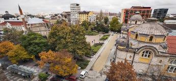 Sofia Bulgaria autumn Stock Images