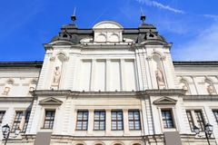 Sofia, Bulgaria. Famous National Gallery for Foreign Art museum building royalty free stock image