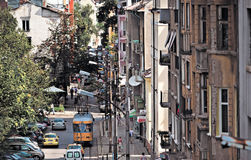 Sofia Bulgaria general street view Royalty Free Stock Images