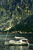 Sofia, BULGARIA - JUNE 15: Tourist excursion boat trip on a yacht jn June 16, 2014 Royalty Free Stock Photo