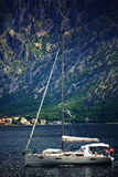 Sofia, BULGARIA - JUNE 15: Tourist excursion boat trip on a yacht jn June 16, 2014 Stock Photography