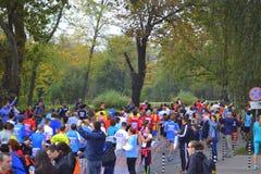 Sofia Bulgaria maraton Royaltyfri Foto