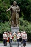 Sofia Bulgaria Monument King Samuil Stock Photo