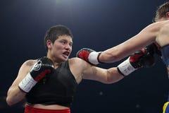 Boxer Yanina Orozco stock image