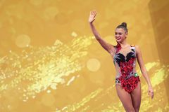 Aleksandra SOLDATOVA RUSSIA stock image