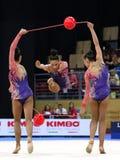 Team Turkey Rhythmic Gymnastics stock photos