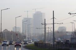Sofia Bulgaria Street View Lizenzfreies Stockbild