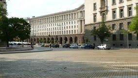 Sofia, Bulgarie - 24 avril 2018 : Bâtiment du Conseil des ministres à Sofia, Bulgarie clips vidéos