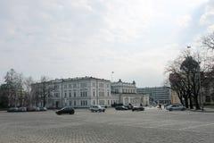 Sofia Bulgarien - mars 01 2015: Området runt om Alexander Nevs Royaltyfri Fotografi