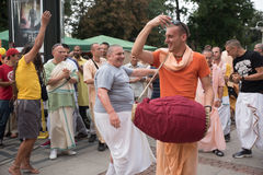 Sofia Bulgarien - September 10 2016: Vagnsfestivalen kallade `-rommar Royaltyfri Bild