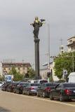 SOFIA, BULGARIJE 14 APRIL, 2016 - Monument van Heilige Sofia in Sofi royalty-vrije stock afbeeldingen