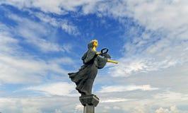 SOFIA, BULGARIJE - JANUARI 03: Monument voor aka Sveti Sofia van Heilige Sofia op Serdica-vierkant, op 03 Januari, 2017 in Sofia, Royalty-vrije Stock Afbeeldingen
