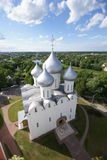 Sofia cathedral. View from height Royalty Free Stock Photo