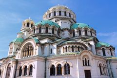 Sofia Cathedral Stock Photo