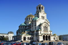 Sofia Cathedral,Bulgaria Royalty Free Stock Images