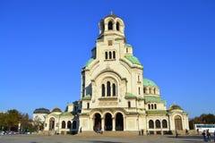 Sofia Cathedral,Bulgaria Royalty Free Stock Photos