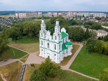 Sofia Cathedral in Polotsk, Wit-Rusland stock foto
