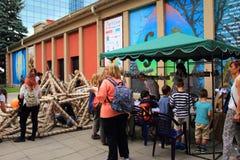 Sofia celebra bambini ` s il giorno il 1° giugno Bulgaria Immagine Stock Libera da Diritti