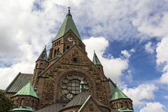Sofia Church (Sofia Kyrka) in Stockholm, Schweden Lizenzfreie Stockfotos