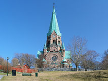 Sofia Church in Stockholm Royalty Free Stock Images