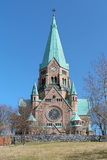 Sofia Church in Stockholm Royalty Free Stock Photography