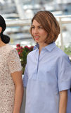 Sofia Coppola. CANNES, FRANCE - MAY 14, 2014: Sofia Coppola at the photocall for the Jury at the 67th Festival de Cannes stock image
