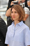 Sofia Coppola. CANNES, FRANCE - MAY 14, 2014: Sofia Coppola at the photocall for the Jury at the 67th Festival de Cannes stock photography