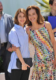 Sofia Coppola & Carole Bouquet Stock Photo