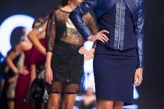 Sofia Fashion Week female models Royalty Free Stock Images