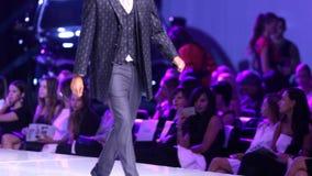 Sofia Fashion Week-Mann stock video footage