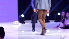 Sofia Fashion Week-Mann stock video
