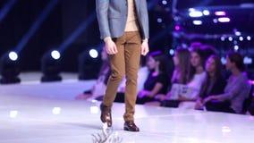 Sofia Fashion Week-Mann stock footage