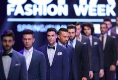 Sofia Fashion Week Men in den Klagen Stockfotos