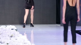 Sofia Fashion Week-Rückseiten stock video