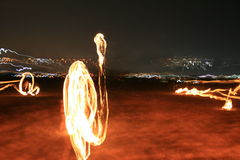 Sofia `in fire` Stock Photos