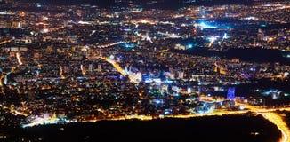 Sofia - huvudstaden av Bulgarien Royaltyfri Bild