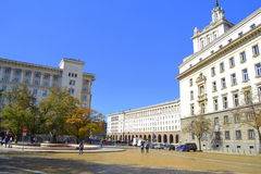 Sofia institutions buildings,Bulgaria Royalty Free Stock Image