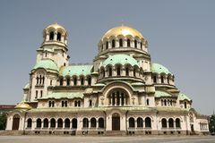 Sofia katedralny Zdjęcie Royalty Free