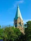 Sofia kyrka in Stockholm Stockbilder