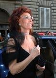 Sofia loren, l'Italia Fotografie Stock Libere da Diritti
