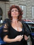 Sofia loren, l'Italia Fotografia Stock Libera da Diritti