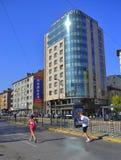 Sofia  Marathon downtown boulevard Royalty Free Stock Photos