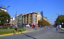 Sofia  Marathon downtown streets Royalty Free Stock Photos