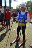 Sofia Marathon summer skiing viewer Stock Photos