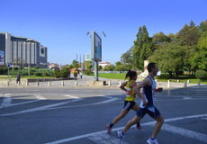 Sofia  Marathon scene Royalty Free Stock Photos