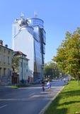 Sofia Marathon-Straßen Stockfotografie