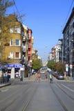 Sofia Marathon-Straßen Lizenzfreie Stockbilder