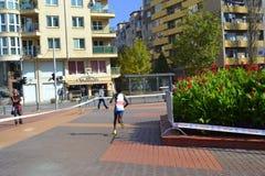 Sofia Międzynarodowy Maratoński widok Zdjęcia Stock