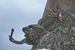 Sofia monument details Bulgaria Stock Photo